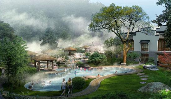 云南昌宁县着力打造小桥温泉旅游度假小镇