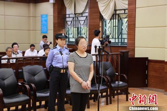 上海抢夺方向盘并引发事故女子获刑3年半。上海浦东新区人民法院供图