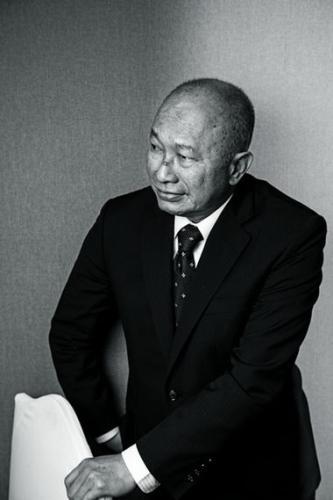 吴宇森。摄影:中国新闻周刊记者 董洁旭