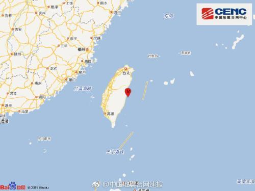 图片来源:中国地震台网中心官方微博。