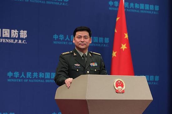 国防部回应中国军队在南海进行军事部署