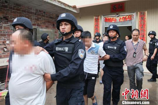 广东茂名警方4个月抓获在逃人员1726人日均9人到案