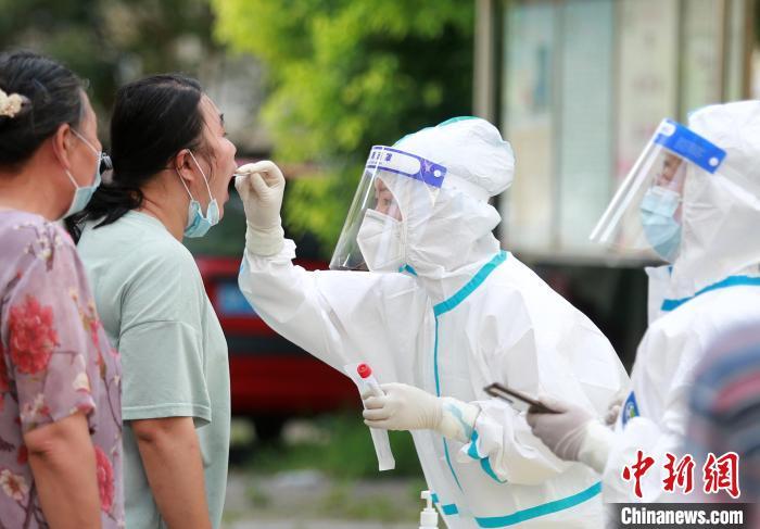 扬州主城区开启第三轮大规模核酸检测