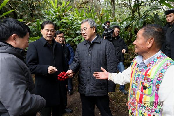 胡春华在怒江出席深度贫困地区脱贫攻坚座谈会并开展调研慰问