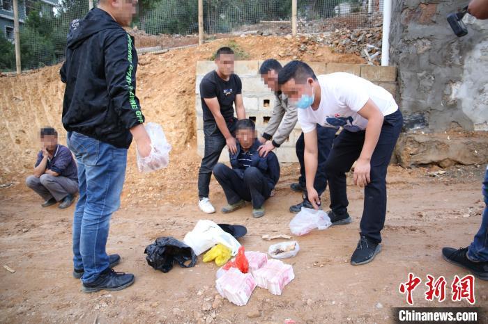 云南德宏边境管理支队今年缴毒量突破2吨