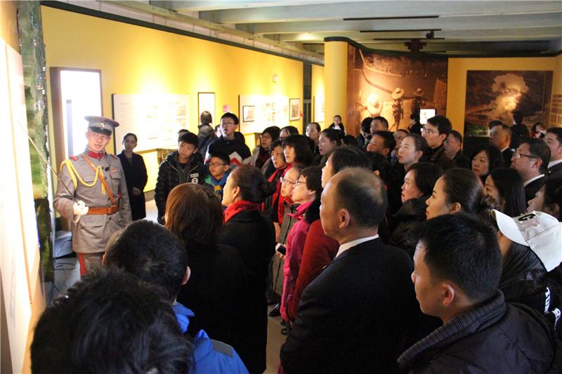 组图:云南陆军讲武堂春节假日接待游客逾56000人次